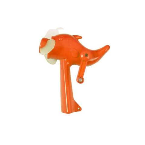 Mini Dolphin Fan - Hand Held Wind Up Power Summer Fun Toy